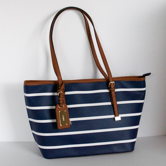 4a6352f6d01 ALDO Handbags - ALDO striped tote bag